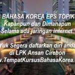 Kursus Bahasa Korea Eps Topik Online